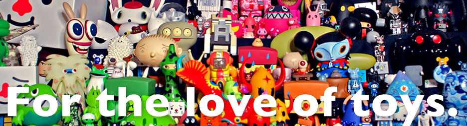 For the love of toys.